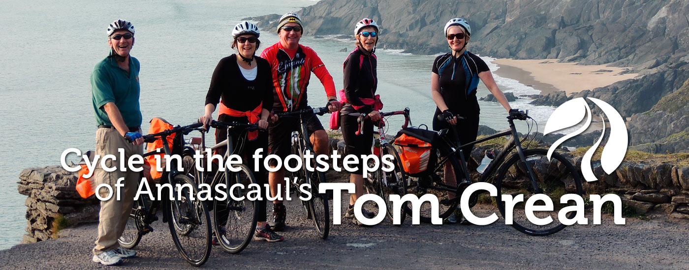 Cycle in the footsteps of Annascaul's Tom Crean