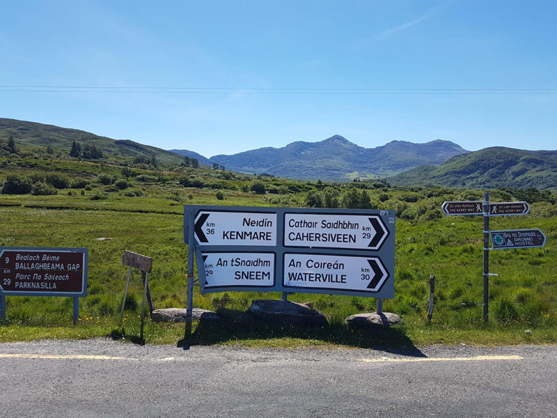 Signs on the Ring of Kerry